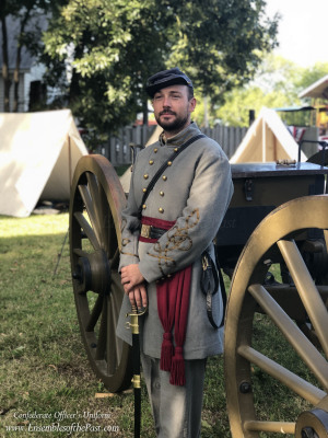 Ensembles of the Past - Custom made uniform - Confederate Uniform - Civil War reenacting